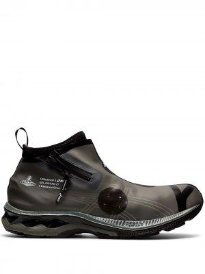Кроссовки Gel-Kayano 27 LTX из коллаборации с Vivienne Westwood ASICS. Цвет: черный