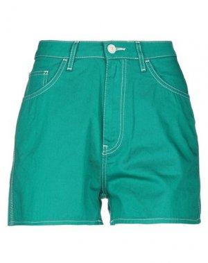 Повседневные шорты HAIKURE. Цвет: зеленый