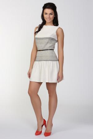 Платье AC Alba Conde. Цвет: белый