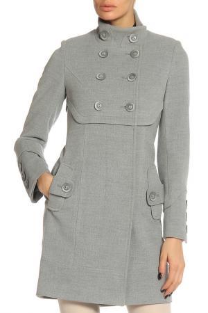 Пальто Elegant Ledy. Цвет: серый