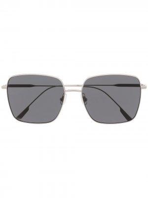 Солнцезащитные очки Diane Gentle Monster. Цвет: серебристый