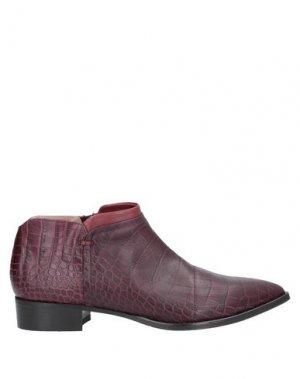 Ботинки ALBERTO FERMANI. Цвет: красно-коричневый