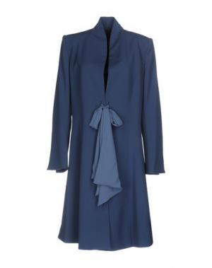 Легкое пальто BETTA CONTEMPORARY COUTURE. Цвет: грифельно-синий
