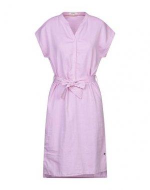 Платье до колена GARCIA. Цвет: розовый