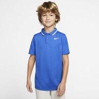 Рубашка-поло для гольфа мальчиков Dri-FIT Victory - Синий Nike