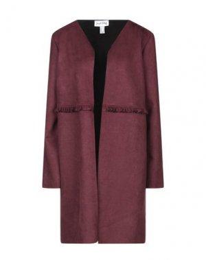 Легкое пальто JOSEPH RIBKOFF. Цвет: красно-коричневый