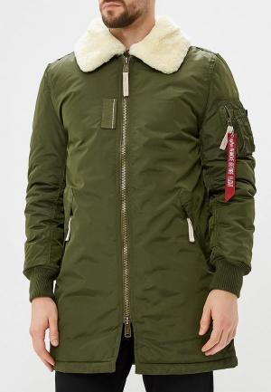 Куртка утепленная Alpha Industries Injector III Coat. Цвет: хаки