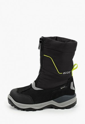 Дутики Ecco SNOW MOUNTAIN. Цвет: черный