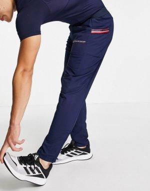 Классические брюки с тесьмой Sport-Темно-синий Tommy Hilfiger