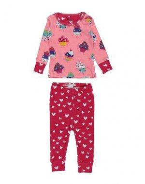 Пижама HATLEY. Цвет: розовый