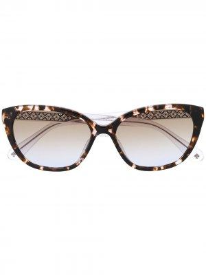 Солнцезащитные очки Philip в оправе кошачий глаз Kate Spade. Цвет: коричневый