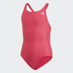 Слитный купальник Performance adidas. Цвет: розовый