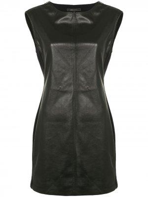 Платье мини без рукавов BCBG Max Azria. Цвет: черный