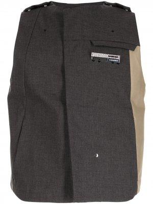 Дутый жилет из коллаборации с Mackintosh A-COLD-WALL*. Цвет: серый