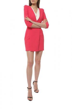 Платье ELISABETTA FRANCHI. Цвет: розовый