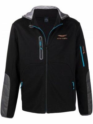 X Aston Martin Racing hooded jacket Hackett. Цвет: черный
