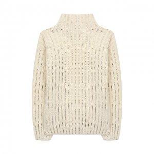 Шерстяной свитер Ermanno Scervino. Цвет: белый