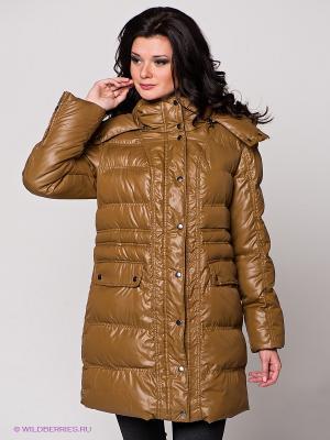 Пальто Best Connections. Цвет: коричневый