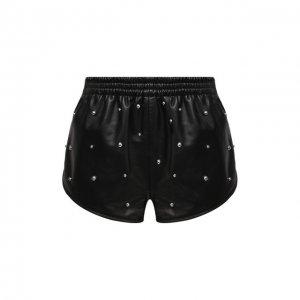 Кожаные шорты Isabel Marant. Цвет: чёрный
