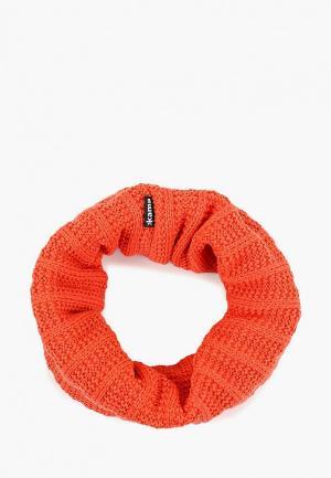 Снуд Kama. Цвет: оранжевый