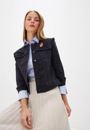 Куртка джинсовая Liu Jo White Label. Цвет: синий