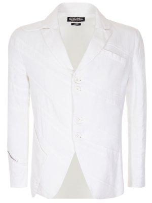 Пиджак белый хлопковый DIRK SPORT COUTURE