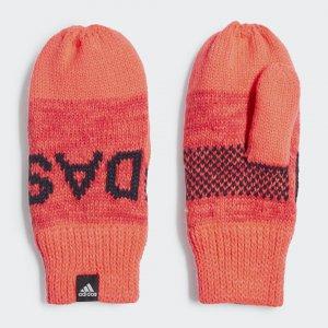 Варежки Graphic Performance adidas. Цвет: розовый