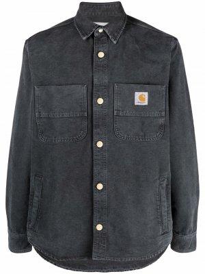 Джинсовая куртка Carhartt WIP. Цвет: черный