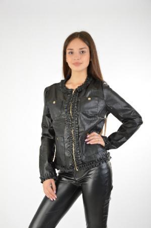 Куртка EXTASY. Цвет: черный
