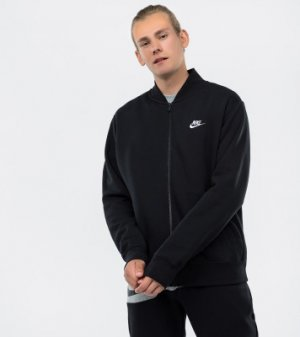 Джемпер утепленный мужской Club, размер 54-56 Nike. Цвет: черный
