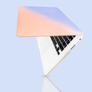 Контрастный чехол для ноутбука MacBook Air 13 дюймов SHEIN. Цвет: многоцветный