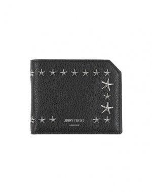 Бумажник JIMMY CHOO. Цвет: черный