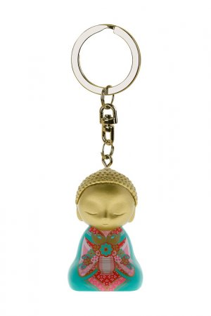 Брелок Маленький Будда Little Buddha. Цвет: мультиколор