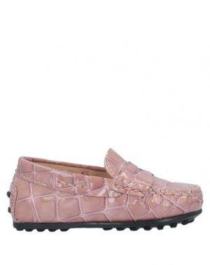 Мокасины TOD'S. Цвет: пастельно-розовый