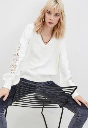 Пуловер French Connection. Цвет: белый
