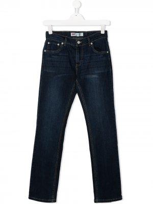 Levis Kids джинсы 511 кроя слим Levi's. Цвет: синий