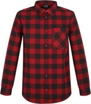 Рубашка мужская Jack Wolfskin Red River, размер 54-56. Цвет: красный