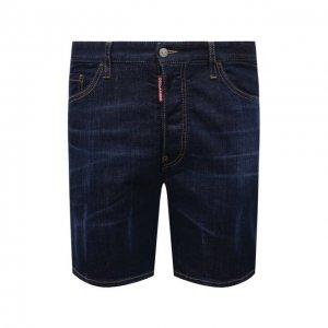 Джинсовые шорты Dsquared2. Цвет: синий