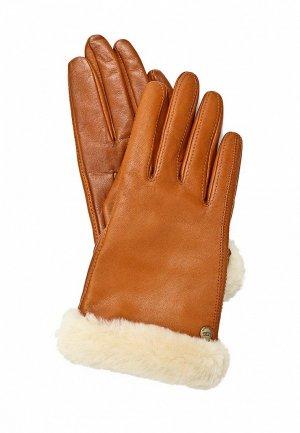 Перчатки UGG Australia UG174DWJG889. Цвет: коричневый