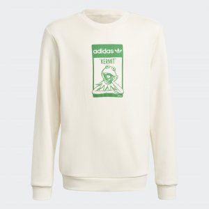 Свитшот Graphic No-Dye Organic Cotton Originals adidas. Цвет: none