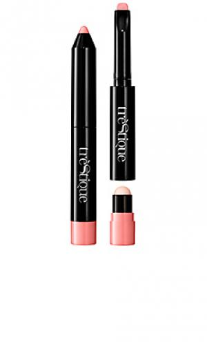 Карандаш для губ prime & glaze lip crayon treStiQue. Цвет: nude
