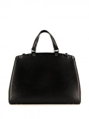 Сумка-тоут Brea pre-owned Louis Vuitton. Цвет: черный