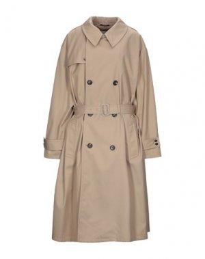 Легкое пальто MAISON MARGIELA. Цвет: верблюжий