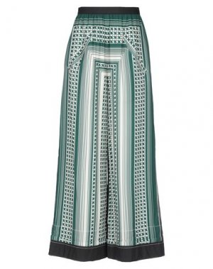 Повседневные брюки HACHE. Цвет: темно-зеленый