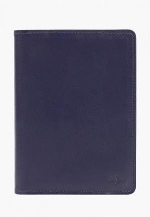 Обложка для паспорта Igor York. Цвет: синий