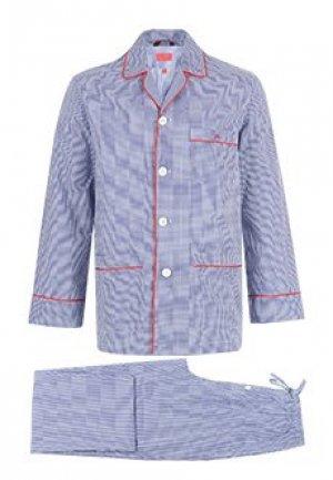 Пижама ISAIA. Цвет: синий