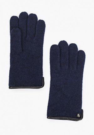 Перчатки Roeckl. Цвет: синий