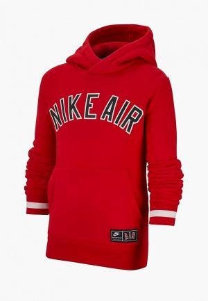 Худи Nike B NK AIR SSNL FLC TOP. Цвет: красный