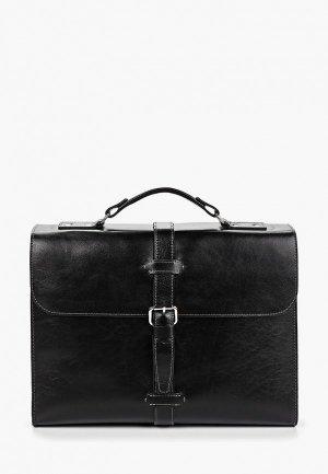 Портфель Igermann. Цвет: черный