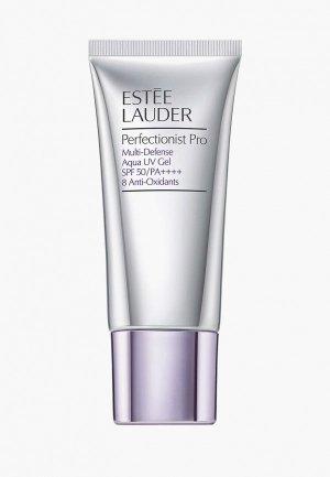 Гель для лица Estee Lauder мультизащитный UV Perfectionist Pro Multi-Defense Aqua Gel SPF 50, 30 мл. Цвет: прозрачный